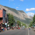 Summer on Elk Ave in Crested Butte